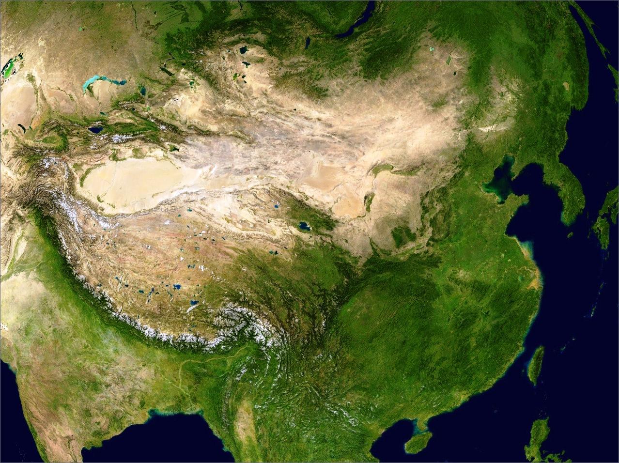 中国省份地图