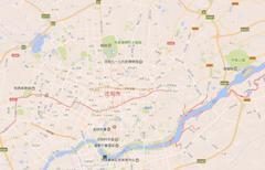 最新沈阳市地图,沈阳市谷歌地图,