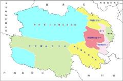 青海可缩放矢量SVG政区地图
