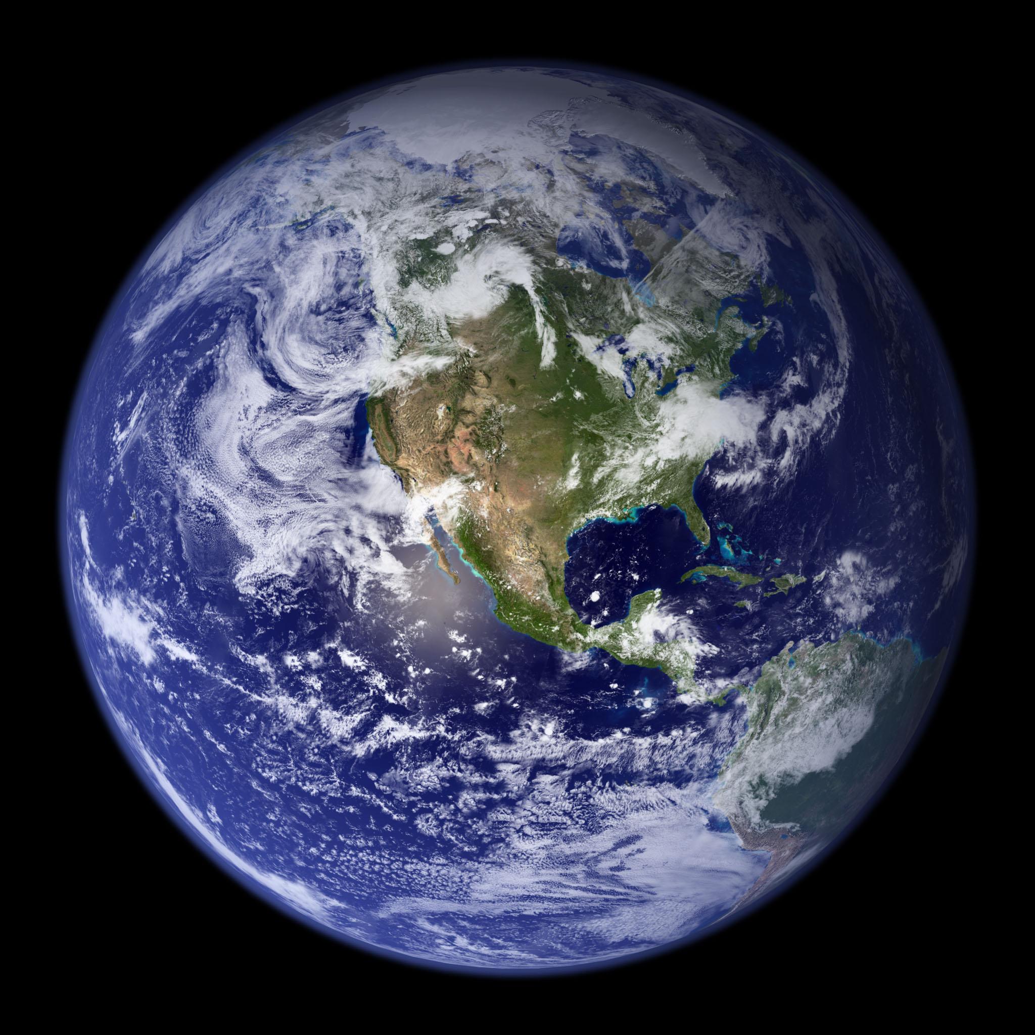 地球全景卫星地图