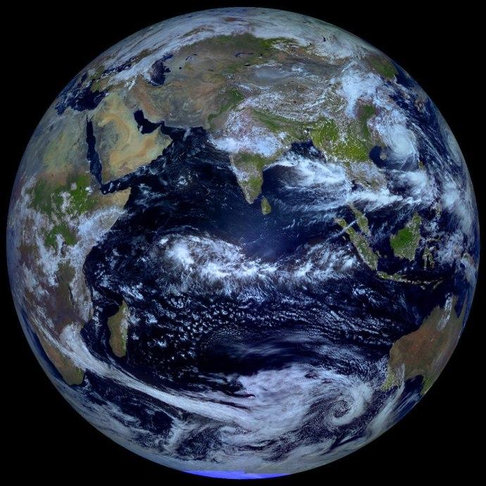 秋分的地球