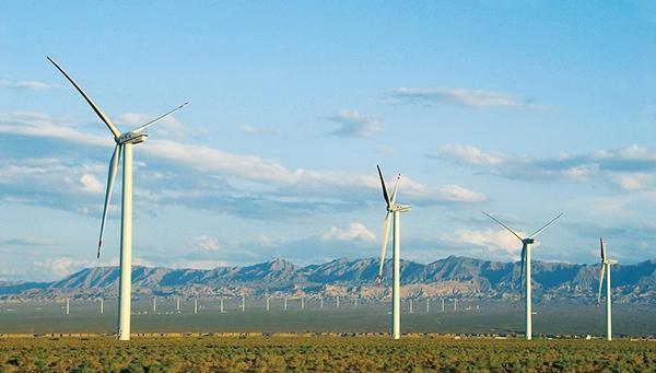 中国四大风力发电场