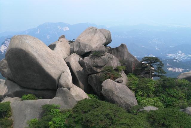 天柱山--安徽的道教仙山